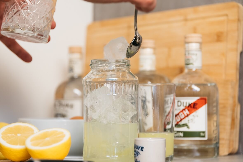 Shaker Alternative Home Bar