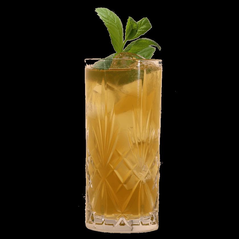 Frühlings Cocktail mit LION's Vodka und Brennnessel