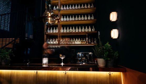 Backbar der The Duke Bar