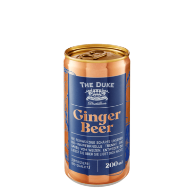 Bio Ginger Beer in der 200 ml Dose