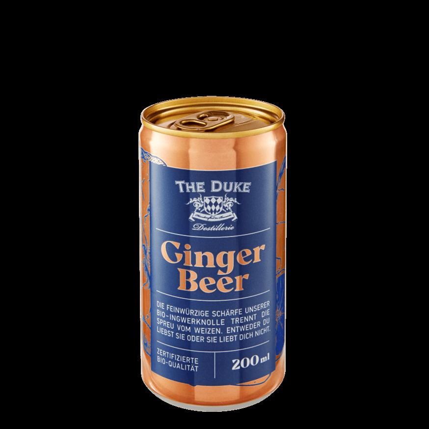 Bio Ginger Beer in der 200 ml Dose